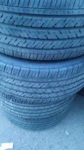 P235/50R18 Michelin Pilot HXM4 tires M+b Art Alloy Wheels