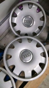 Audi OEM hub caps / wheel covers
