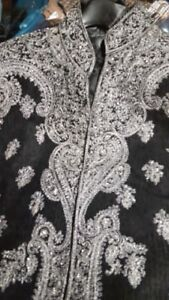 Embroidered Wedding Sherwani Set for sale SIZE M AND XL AND XXL