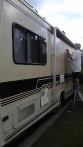 MOBILE  RV  REPAIRS & DETAILING **RV's, **BOATS,** TRAILERS***