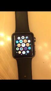 38 mm Gen 1 7000 series apple watch with box. barely used