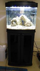 29 GAL Coralife Bio Cube Aquarium,  including stand