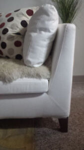 **NEW IKEA WHITE COUCH**