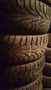 4x pneus hivers nokian/winterclaw 195/65r15 pour 80$