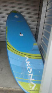 12 ft paddle board and paddle