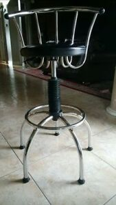 selling beautiful leather and metal barstools $75 EACH!!