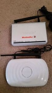 Wireless router with charger call 519-673-9819