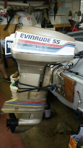 Evinrude Outboard 55 HP Good Condition !!! Kitchener / Waterloo Kitchener Area image 3