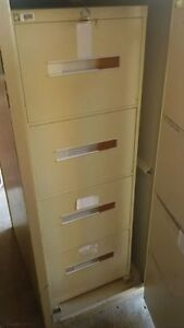 metal 4 drawer legal filing cabinets