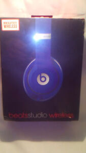 Beats Studio Wireless Blue Authentic For 1 Hour Today Only