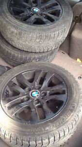 BMW 3 Series Winter Rims & Michelin M+S Tires