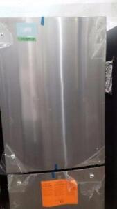 30'' Stainless steel bottom-mount refrigerator