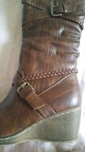 Brand New Ladies Boots - Size 9 Kitchener / Waterloo Kitchener Area image 1