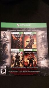 Gears of War 1, 2, 3 and Judgement Codes. Xbox One / 360