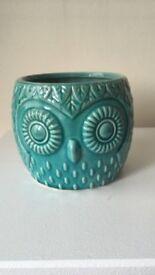 Owl plant pots