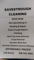 Eavestrough Cleaning, Roofing, Painting
