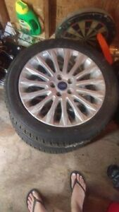 2 FORD TIRES & RIMS