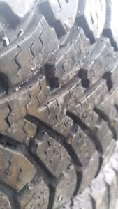 NEXT TO NEW NORDIC GOODYEAR WINTER TIRES SIZE 235 65 16