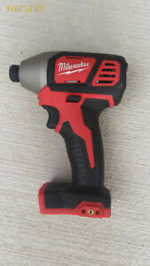 "Milwaukee M18 impact Driver 1/4"" hex-Bare Tool Cambridge Kitchener Area image 1"