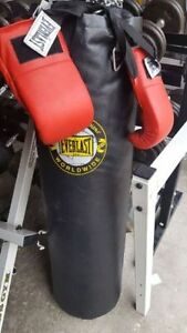 Punching bags many to choose from