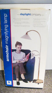 Daylight Company Armchair Magnifying Lamp.- new!