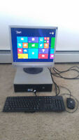 Great Small HP Compaq,Win8.1,Office2013,19 LCD, CD/DVD,Antivirus