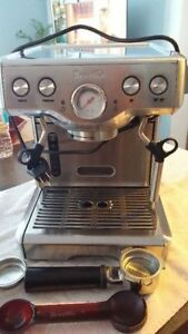 Breville Die-Cast Programmable Espresso Machine BES830XL