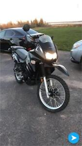 2011 kawasaki klr650 street and trail