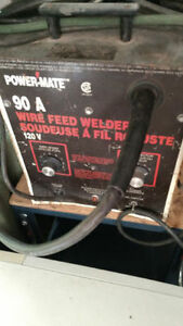 POWER-MATE WIRE FEED WELDER