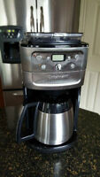 Cuisinart 12 Cup coffee machine with Built in Burr Grinder