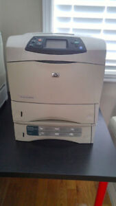 Professional HP LaserJet 4350dtn Printer Network and duplex