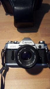 Original Canon AE-1 with 50mm 1.8 Edmonton Edmonton Area image 1