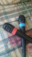 Playstation 2 SingStar Microphones
