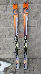 Skis Salomon verse L 160 160 cm long skis