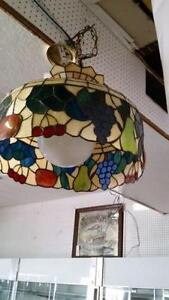 Vintage Tiffany hanging  lamp