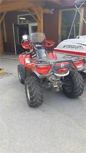 2010 CAN AM OUTLANDER 500XT DPS GOOD SHAPE WITH WINDSHIELD