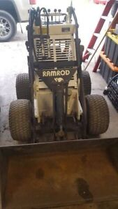 RAMROD 750 MINI SKIDSTEER LOADER - TRADE FOR ??? (read full ad!)