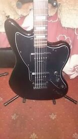 Squier Baritone Jazzmaster (none more black)