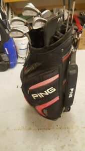PING Eye 2 Iron Set plus PING Trailblazer Cart bag