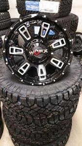 Worx Beast II Wheel Aftermarket Truck Wheel Rim 18x9 6lug Chevrolet Silverado GMC Sierra Ford F-150 FINANCING