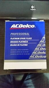 AC Delco spark plugs brand new.