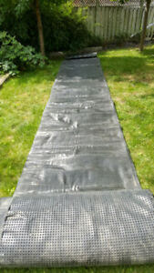 Exterior Foundation Wall Waterproofing Wrap
