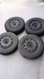 Nordic winter tires and rims, 185 65R15