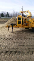 wood chipper for rent