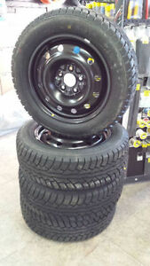 "Winter Tire Package 16"" 205/60R16 With Steel Wheels .New !"