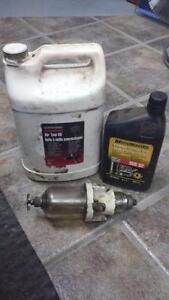 huilier a air $20.00 + 1 litre huile compresseur $3.00