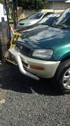 1996 Toyota RAV4 (4x4) Green & Silver 5 Speed Manual 4x4 Wagon Caboolture Caboolture Area Preview