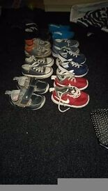 Boys toddler shoes size 4-5