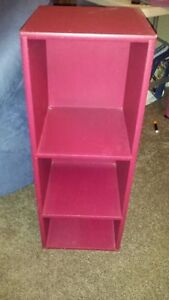 Red Shelving Unit - Must Go ASAP