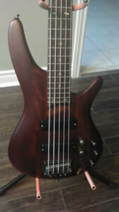 Ibanez SR 505 5-String Active Bass in 10/10 Condition